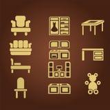 Tienda de muebles Fotografía de archivo libre de regalías
