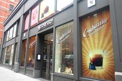 Tienda de Nespresso Imagenes de archivo