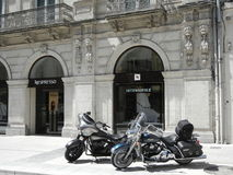 Tienda de Nespresso en Montpellier, Francia foto de archivo libre de regalías