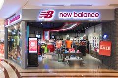 Tienda de New Balance en Suria KLCC, Kuala Lumpur Foto de archivo