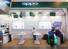 Tienda de Oppo en la plaza Yat bajo, Kuala Lumpur, Malasia Imagen de archivo