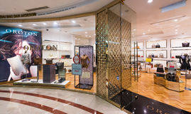 Tienda de Oroton en Suria KLCC, Kuala Lumpur Imagen de archivo libre de regalías