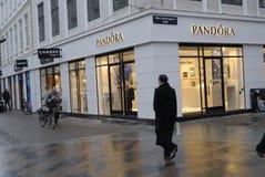 Tienda de Pandora Fotos de archivo libres de regalías