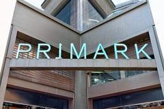 Tienda de Primark en Londres, Reino Unido Imágenes de archivo libres de regalías