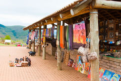 Tienda de regalos en África imagen de archivo libre de regalías