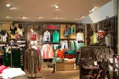 Tienda de ropa Fotografía de archivo libre de regalías