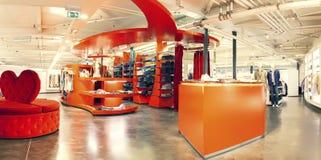 Tienda de ropa Imagen de archivo libre de regalías