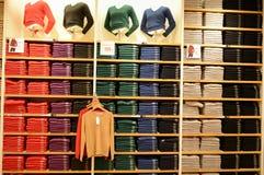 Tienda de ropa en Shangai imagen de archivo libre de regalías