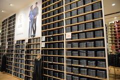 Tienda de ropa en Shangai imagenes de archivo