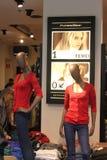 Tienda de ropa para mujer Imágenes de archivo libres de regalías