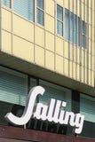 Tienda de Salling en Dinamarca Foto de archivo libre de regalías