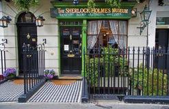 Tienda de Sherlock Holmes en Londres Imagen de archivo libre de regalías