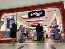 Tienda de Smiggle en Londres foto de archivo libre de regalías