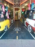 Tienda de souvenirs única de Route 66 imagen de archivo