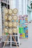 Tienda de souvenirs Cienfuegos Fotos de archivo