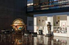 Tienda de souvenirs del museo en Caracas foto de archivo