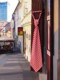 Tienda de souvenirs en ciudad de la parte superior de Zagreb Foto de archivo libre de regalías