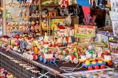 Tienda de souvenirs en el mercado de los havels Imágenes de archivo libres de regalías
