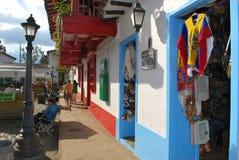 Tienda de souvenirs latina Imagen de archivo libre de regalías