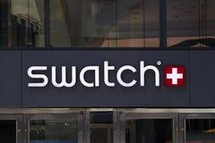 Tienda de Swatch imágenes de archivo libres de regalías