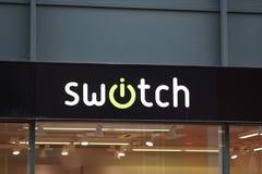 Tienda de Swatch imagenes de archivo