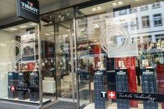 Tienda de Tissot Fotografía de archivo libre de regalías
