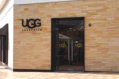 Tienda de Ugg Imagenes de archivo