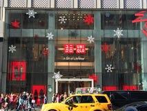 Tienda de UNIQLO en Nueva York Imagen de archivo