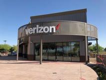 Tienda de Verizon foto de archivo