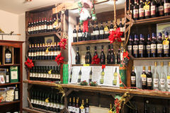 Tienda de vino Fotos de archivo libres de regalías