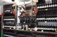 Tienda de vino Fotografía de archivo
