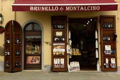 Tienda de vino Imagenes de archivo