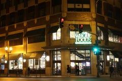 Tienda de Whole Foods en Lincoln Park, Chicago foto de archivo libre de regalías