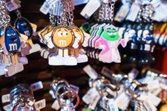 Tienda de World de los M&Ms Foto de archivo libre de regalías
