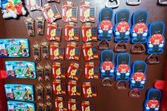 Tienda de World de los M&Ms Foto de archivo