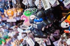 Tienda de World de los M&Ms Imagen de archivo libre de regalías