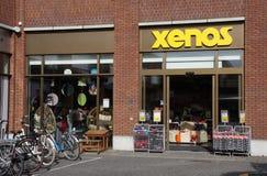 Tienda de Xenos, los Países Bajos foto de archivo libre de regalías