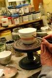 Tienda del artesano Fotografía de archivo libre de regalías