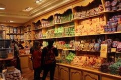 Tienda del caramelo Imagen de archivo libre de regalías