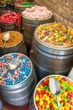 Tienda del caramelo Fotografía de archivo