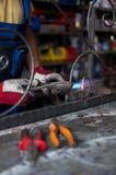 Tienda del hierro labrado Imagen de archivo libre de regalías