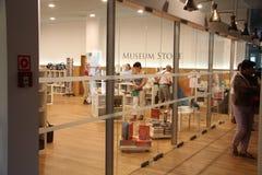 Tienda del museo Fotos de archivo