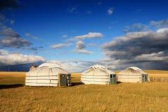 Tienda del nómada Imagen de archivo libre de regalías