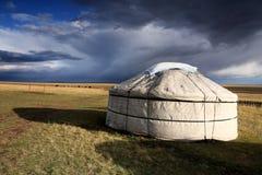 Tienda del nómada fotografía de archivo libre de regalías