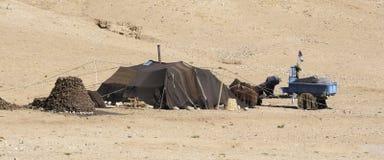 Tienda del nómada fotografía de archivo