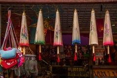 Tienda del oeste de la artesanía del parque de Zhongshan del lago hangzhou Foto de archivo libre de regalías