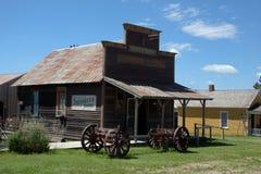 Tienda del oeste vieja Imagenes de archivo