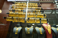 Tienda del oro Fotos de archivo