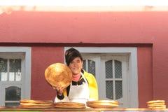Tienda del pan en el valle de Fergana Fotografía de archivo libre de regalías
