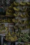 Tienda del plátano Fotos de archivo